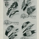 1944 Juvenia Watch Company Switzerland Vintage 1944 Swiss Ad Suisse Advert Horlogerie Horology