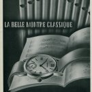 1944 Lavina Watch Company Villeret Switzerland 1944 Swiss Ad Suisse Advert Horlogerie Horology