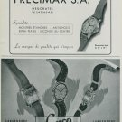 1944 Precimax Watch Company Lanco Watch Company Switzerland Vintage 1944 Swiss Ad Suisse Advert