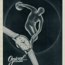 1953 Ogival Watch Company La Chaux-de-Fonds Switzerland Vintage 1953 Swiss Ad Suisse Advert