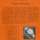1953 Rolex Watch Company Mount Everest Colonel Hunt Vintage 1953 Swiss Ad Suisse Advert
