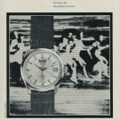 1968 Precimax Watch Company Switzerland Vintage 1968 Swiss Ad Suisse Advert Horology