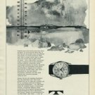 1965 Technos Watch Company Switzerland Vintage 1965 Swiss Ad Suisse Advert Gunzinger Bros.