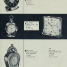 1957 Swiza Clock Company Moutier Switzerland Vintage 1957 Swiss Ad Suisse Advert Horlogerie Horology