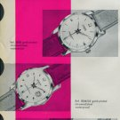 1958 Candino Watch Company Switzerland Vintage 1958 Swiss Ad Suisse Advert Horlogerie Horology
