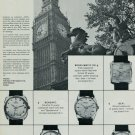 1967 Atlantic Watch Company Bettlach Switzerland Big Ben Vintage 1967 Swiss Ad Suisse Advert