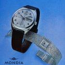 1967 Mondia Watch Company Switzerland Vintage 1967 Swiss Ad Suisse Advert Horology Horlogerie