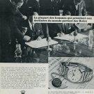 1967 Rolex Watch Company Montres Rolex SA Geneva Switzerland Vintage 1967 Swiss Ad Suisse Advert