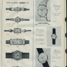 1958 Arsa Watch Company Switzerland Vintage 1958 Swiss Ad Suisse Advert Horology