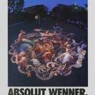 Kurt Wenner Absolut Wenner Art Ad Absolut Vodka Advertisement Advert