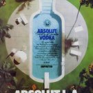 Absolut L.A. Ad Los Angeles Absolut Vodka Advertisement Advert