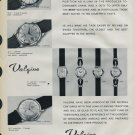 1958 Valgine Watch Company Fils Ali Guenat Switzerland Vintage 1958 Swiss Ad Suisse Advert
