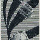 1957 Continental Watch Company Sissach Switzerland Vintage 1957 Swiss Ad Suisse Advert