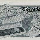 1947 Cortebert Watch Company Switzerland Vintage 1947 Swiss Ad Suisse Advert Horology