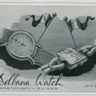 1947 Delbana Watch Company Grenchen Switzerland Vintage 1947 Swiss Ad Suisse Advert