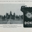 1947 Doxa Watch Company Switzerland Vintage 1947 Swiss Ad Suisse Advert Horology Horlogerie