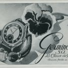 1947 Germinal Watch Company Switzerland Vintage 1947 Swiss Ad Suisse Advert Horology