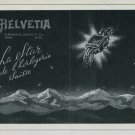 1947 Helvetia Watch Company General Watch Co. Bienne switzerland 1947 Swiss Ad Suisse Advert