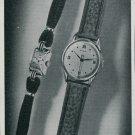 1947 Zila Watch Company Switzerland Vintage 1947 Swiss Ad Suisse Advert Horology Horlogerie