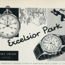 1959 Excelsior Park Watch Company St-Imier Switzerland Vintage 1959 Swiss Ad Suisse Advert