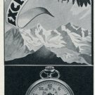 1955 Excelsior Park Watch Company Switzerland Vintage 1955 Swiss Ad Suisse Advert