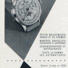 1955 Mathey-Tissot Watch Company Switzerland Vintage 1955 Swiss Ad Suisse Advert Horology