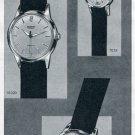 Vintage 1957 Silvana S.A. Watch Co Switzerland Original Swiss Print Ad Suisse Publicite Montres