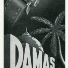 1947 Damas Watch Company Beguelin & Co. Switzerland Vintage 1947 Swiss Ad Suisse Advert
