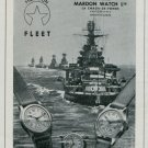 Mardon Watch Company Switzerland Vintage 1947 Swiss Ad Publicite Suisse Montres Advert