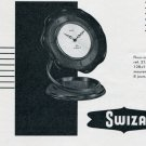 1956 Swiza Clock Company Switzerland Vintage 1956 Swiss Ad Suisse Advert Horology