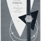 1956 Consul Watch Company Charles Virchaux Switzerland Vintage 1956 Swiss Ad Suisse Advert