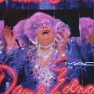 Dame Edna MAC Cosmetics 2009 Ad Magazine Advert Advertisement M A C Drag Queen