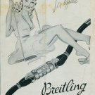 1946 Breitling Watch Company Sex Appeal Vintage 1946 Swiss Ad Suisse Advert Switzerland