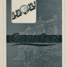 1946 Cortebert Watch Company Switzerland Vintage 1946 Swiss Ad Suisse Advert Horology