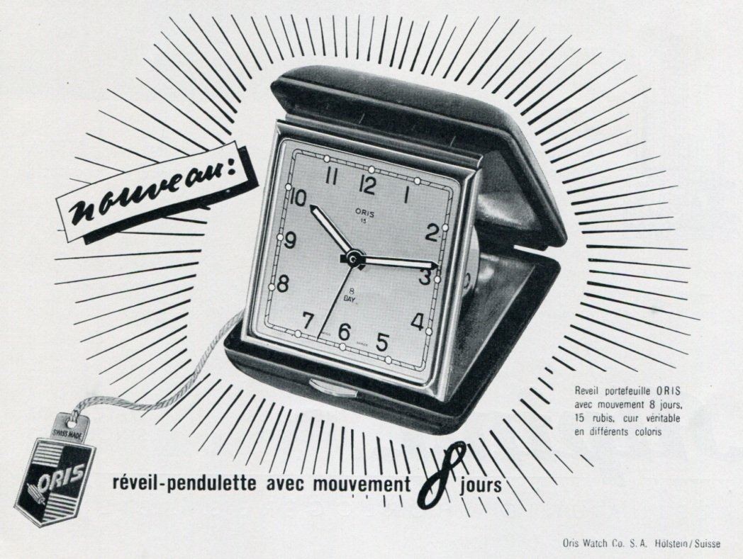 1951 Oris Watch Company Switzerland Vintage 1951 Swiss Ad Suisse Advert Horology Horlogerie