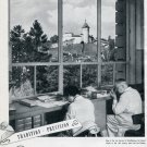 1951 IWC International Watch Company Switzerland Vintage 1951 Swiss Ad Suisse Advert