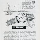 1951 Tissot Watch Company Tissot & Fils SA Switzerland Vintage 1951 Swiss Ad Suisse Advert Horology