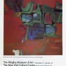 1975 Syd Solomon Skypark Vintage 1975 Art Exhibition Ad Advert Magazine Advertisement