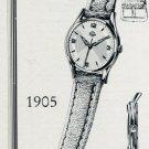 1955 Mondia Watch Company 50th Anniversary Vintage 1955 Swiss Ad Suisse Advert Switzerland