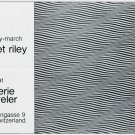 1975 Bridget Riley Vintage 1975 Art Exhibition Ad Advert Galerie Beyeler Basel Switzerland