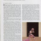 1975 Francis Bacon Bacon's Black Triptychs Vintage 1975 Magazine Article by Hugh M. Davies