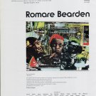 1975 Romare Bearden The Train Advert Vintage 1975 Art Ad Advert Magazine Advertisement