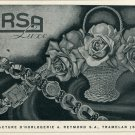 1946 Arsa Watch Company A Reymond Switzerland Vintage 1946 Swiss Ad Suisse Advert