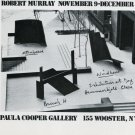 1974 Robert Murray Vintage 1974 Art Exhibition Ad Advert Advertisement Paula Cooper Gallery NY