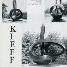 1974 Sculptor Kieff Genesis XI Vintage 1974 Art Ad Advert Blossom Music Center Advertisement