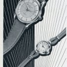 1955 Hy. Moser & Cie Watch Company Switzerland Vintage 1955 Swiss Ad Suisse Advert Horology