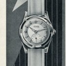 1956 Ciny Watch Company Switzerland Vintage 1956 Swiss Ad Suisse Advert #2 Horology