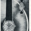 Vintage 1965 Ciny Watch Company Switzerland 1965 Swiss Magazine Ad Advert