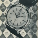 1954 Titus Watch Company Paul Ditisheim SA Switzerland Vintage 1954 Swiss Ad Suisse Advert