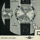 1965 Mondia Watch Company Switzerland Vintage 1965 Swiss Ad Suisse Advert Horology